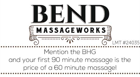 Bend Massage Works
