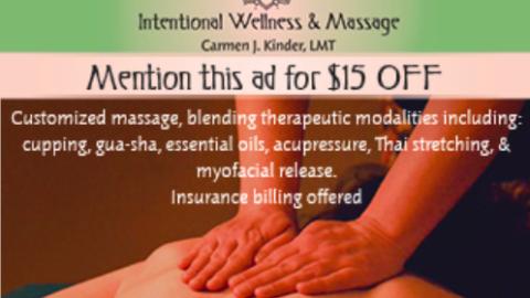 Intentional Wellness Massage