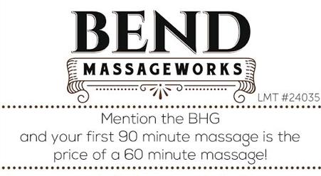 Bend Massage Works