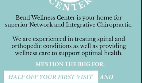Bend Wellness Center Chiropractic